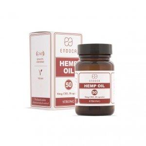 Endoca Hemp Oil 1500mg – 30 capsules –...
