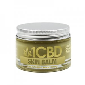 1CBD 1000mg Skin Balm Natural