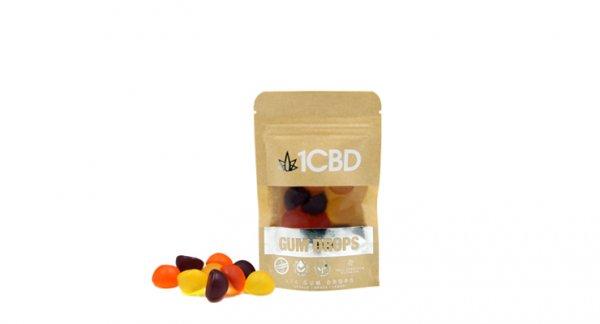 1CBD 10mg Gum Drops X10