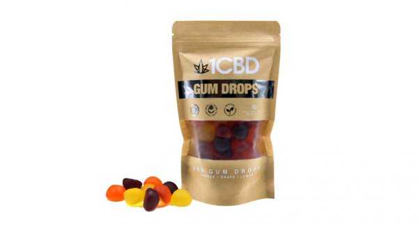 1CBD 10mg Gum Drops X60
