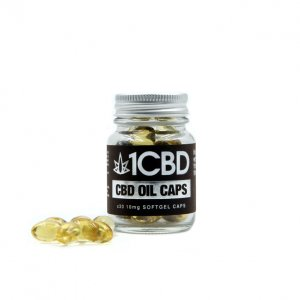 1CBD 10mg Softgel Capsules X30