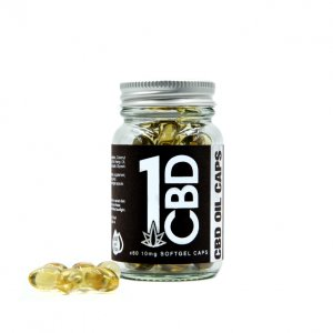 1CBD 10mg Softgel Capsules X60