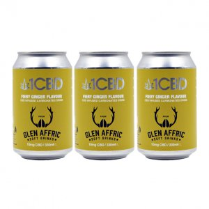 1CBD Carbonated Soft Drinks Ginger Flavour