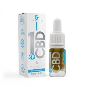 5% Lite Edition Pure Hemp CBD Oil 5ml