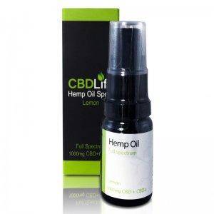 CBD Life Hemp Oil CBD/CBDa Spray (400mg – 10...