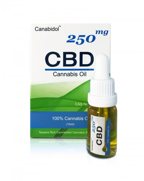 Canabidol CBD Oil Drops (250mg – 1000mg) (Strength: 250mg)