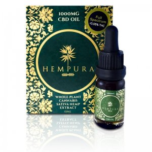 Hempura Full-Spectrum Original CBD Oil (250mg – 1000mg) (Strength: 1000mg)