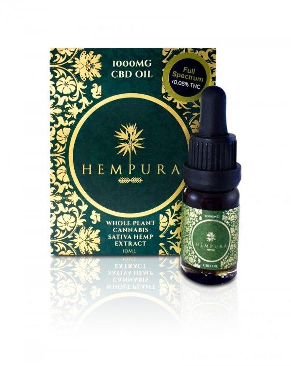Hempura Full-Spectrum Original CBD Oil (250mg – 1000mg) (Strength: 1000mg)
