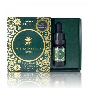 Hempura Full-Spectrum Original CBD Oil (250mg - 1000mg) (Strength: 250mg)