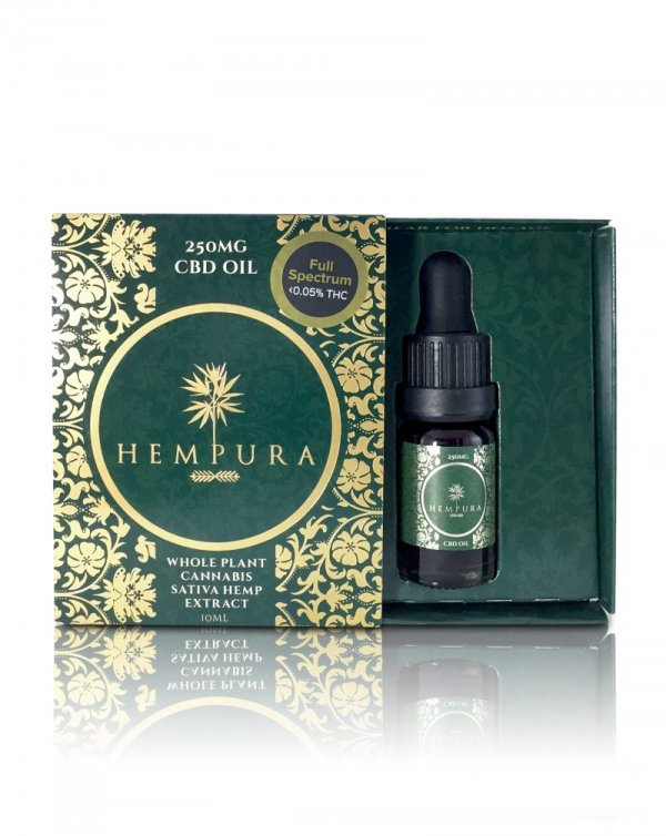 Hempura Full-Spectrum Original CBD Oil (250mg – 1000mg) (Strength: 250mg)
