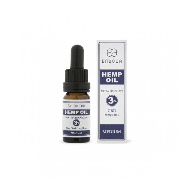 Endoca Hemp Oil Drops 300mg (Mint & Chocolate) – 10ml – Food Supplement